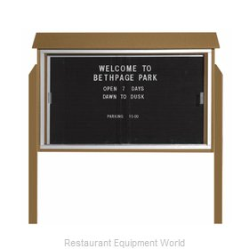 Aarco Products Inc PLDS3045LDPP-8 Letter Board