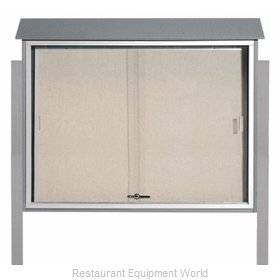 Aarco Products Inc PLDS3645DPP-2 Bulletin Board
