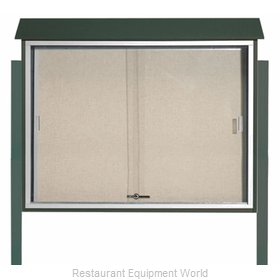 Aarco Products Inc PLDS3645DPP-4 Bulletin Board