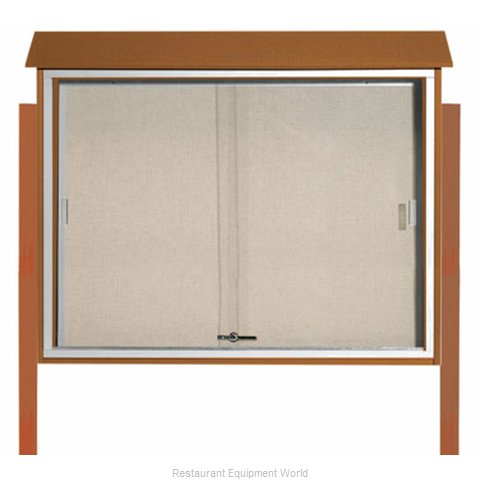 Aarco Products Inc PLDS3645DPP-5 Bulletin Board