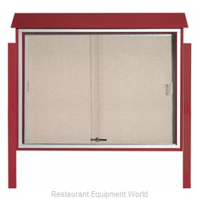 Aarco Products Inc PLDS3645DPP-7 Bulletin Board