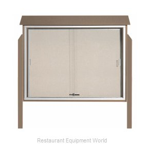 Aarco Products Inc PLDS3645DPP-8 Bulletin Board