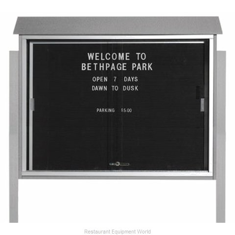 Aarco Products Inc PLDS3645LDPP-2 Letter Board