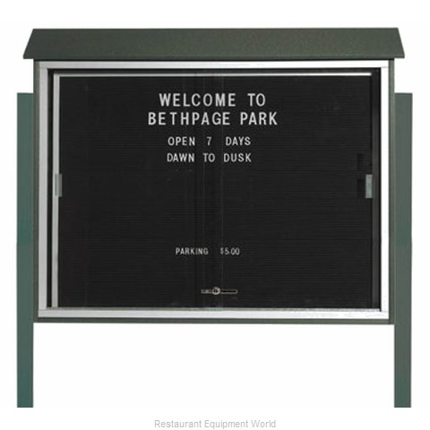 Aarco Products Inc PLDS3645LDPP-4 Letter Board