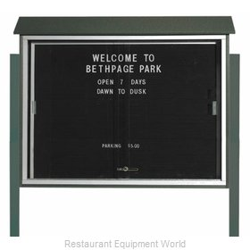 Aarco Products Inc PLDS3645LDPP-4 Message Center Board