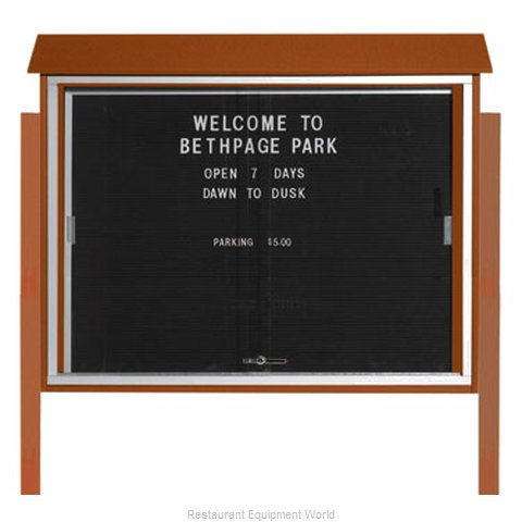 Aarco Products Inc PLDS3645LDPP-5 Message Center Board