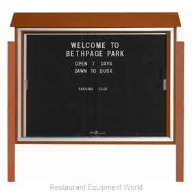 Aarco Products Inc PLDS3645LDPP-5 Letter Board