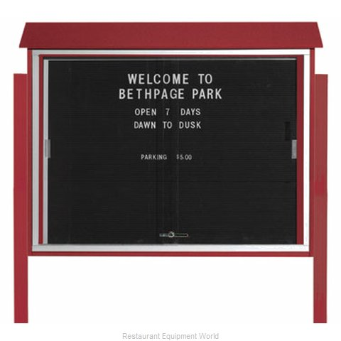 Aarco Products Inc PLDS3645LDPP-7 Letter Board