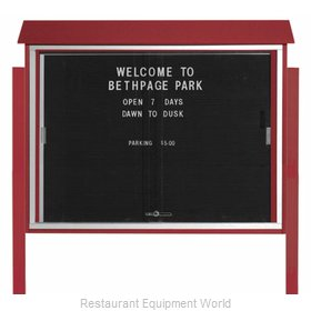 Aarco Products Inc PLDS3645LDPP-7 Message Center Board