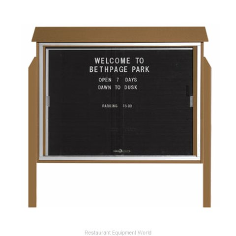 Aarco Products Inc PLDS3645LDPP-8 Letter Board