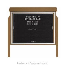 Aarco Products Inc PLDS3645LDPP-8 Message Center Board