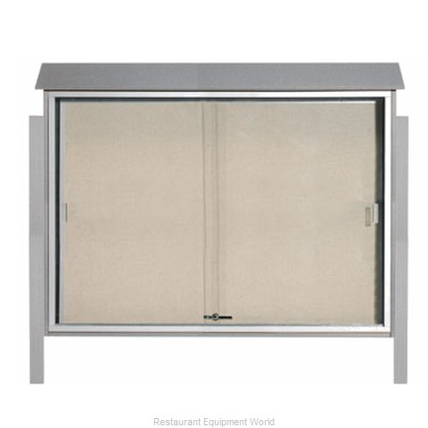Aarco Products Inc PLDS4052DPP-2 Bulletin Board