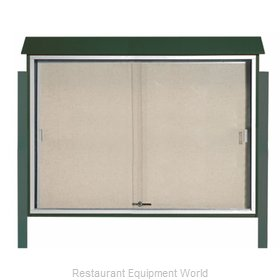 Aarco Products Inc PLDS4052DPP-4 Bulletin Board