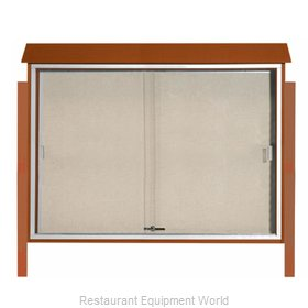 Aarco Products Inc PLDS4052DPP-5 Bulletin Board