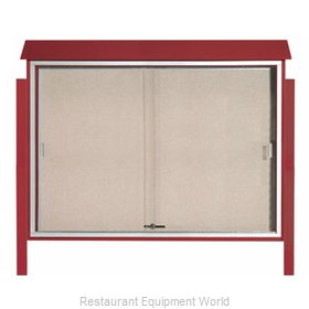 Aarco Products Inc PLDS4052DPP-7 Bulletin Board