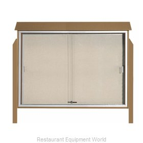 Aarco Products Inc PLDS4052DPP-8 Bulletin Board