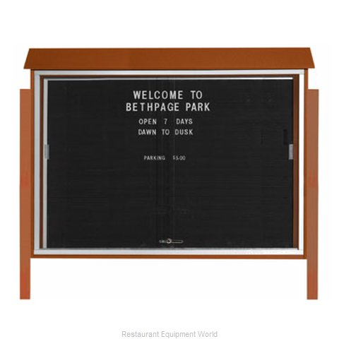 Aarco Products Inc PLDS4052LDPP-5 Letter Board