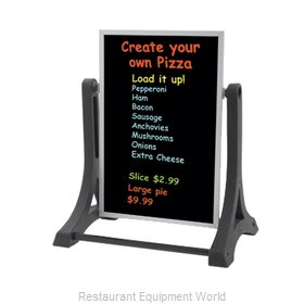 Aarco Products Inc ROC-2 Sign Board, A-Frame