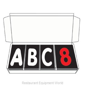 Aarco Products Inc ROCLTR-2 Letter Number Set