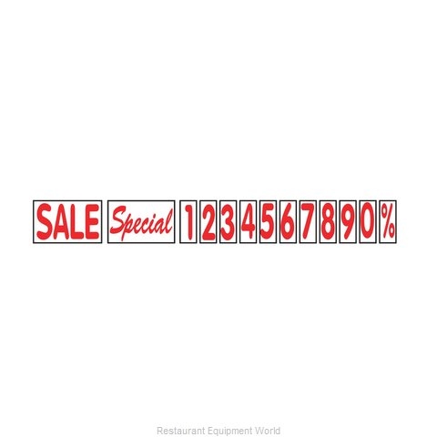 Aarco Products Inc ROCLTR-3 Letter Number Set