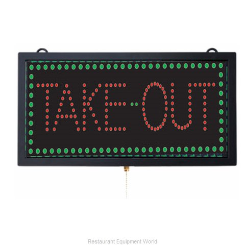 Aarco Products Inc TAK12M Sign, Lighted