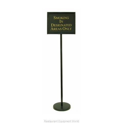 Aarco Products Inc TY-2BK Sign Freestanding