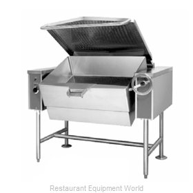 Accutemp ACGTS-40 Tilting Skillet Braising Pan, Gas