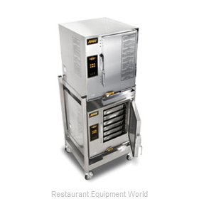 Accutemp E62081D060 DBL Steamer, Convection, Electric, Boilerless, Floor Model