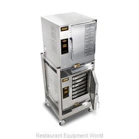 Accutemp E62083D100 DBL Steamer, Convection, Electric, Boilerless, Floor Model