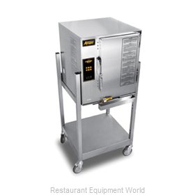 Accutemp E62403D110 SGL Steamer, Convection, Electric, Boilerless, Floor Model
