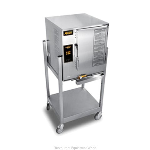 Accutemp E62403E110 SGL Steamer, Convection, Electric, Boilerless, Floor Model