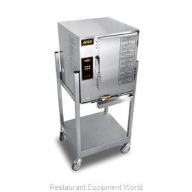 Accutemp E62403E110 SGL Steamer, Convection, Electric, Boilerless, Floor Model