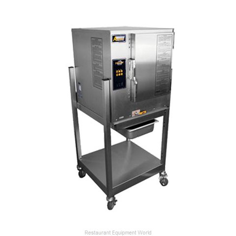 Accutemp N61201D060 SGL Steamer, Convection, Gas, Boilerless, Floor Model