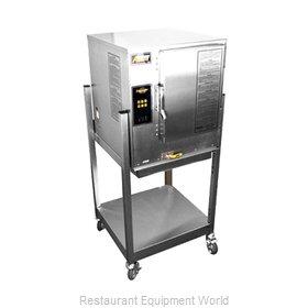 Accutemp N61201E060 SGL Steamer, Convection, Gas, Boilerless, Floor Model