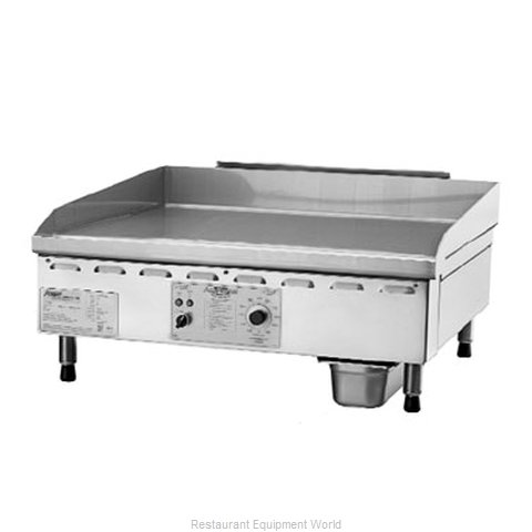 Accutemp PGF1201A4800-T1 Griddle Counter Unit Gas (Magnified)