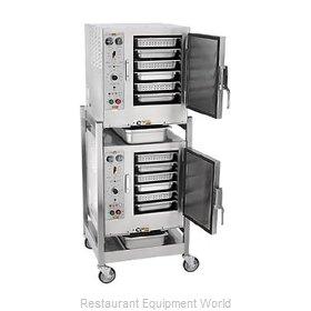 Accutemp S62083D100 DBL Steamer, Convection, Electric, Boilerless, Floor Model