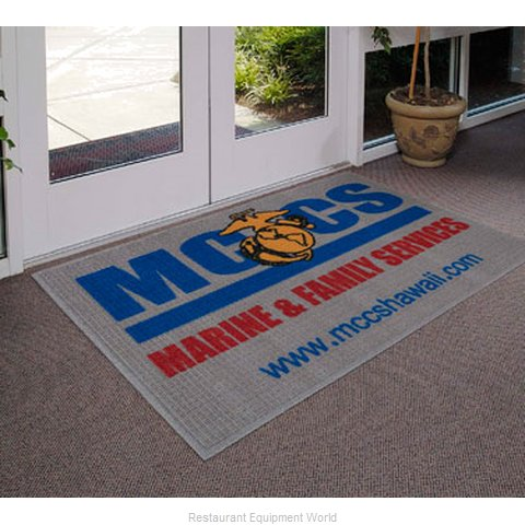 Andersen Company 237-3-10 Entrance Mat (Magnified)