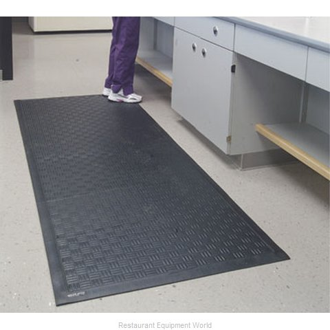 Andersen Company 370-4-12.3 Anti-Fatigue Slip Resistant Mat (Magnified)