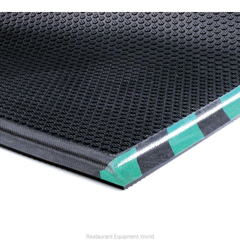 Andersen Company 477-3-5-S-E Floor Mat Rubber (Magnified)