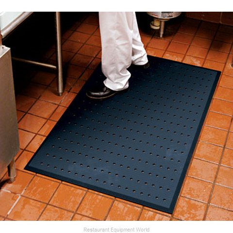 Andersen Company 496-3-5 Anti-Fatigue Slip Resistant Mat (Magnified)