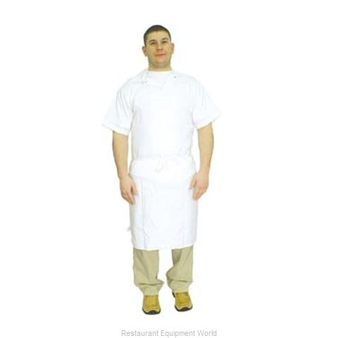 Admiral Craft 11AB-3636WH Bib Apron (Magnified)