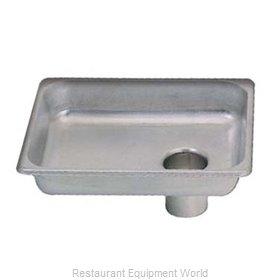 Adcraft 12PAN Meat Grinder Pan