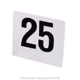 Admiral Craft 4/1-50 Table Numbers Cards