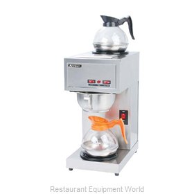 Adcraft CBS-2 Coffee Brewer for Glass Decanters