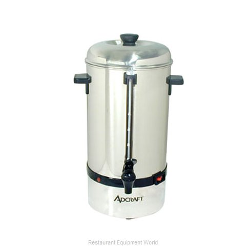 Admiral Craft CP-40 Coffee Percolator, Electric (Magnified)