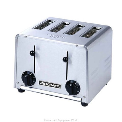 Adcraft CT-04/2200W Toaster Pop-Up