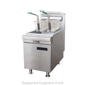 Adcraft CTF-75/NG Fryer Counter Unit Gas Full Pot