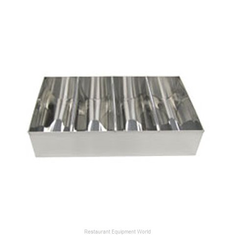 Adcraft CUT-4SS Flatware Silverware Holder Dispenser
