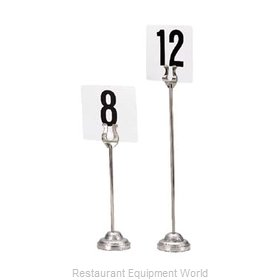 Admiral Craft DCH-8 Menu Card Holder / Number Stand