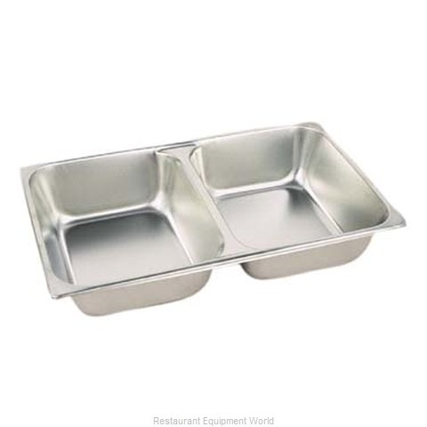 Admiral Craft DIV-200F4 Chafing Dish Pan (Magnified)